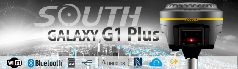 Máy Định Vị GPS 2 Tần Số South Galaxy G1 Plus